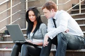 online-school-students-on-laptop