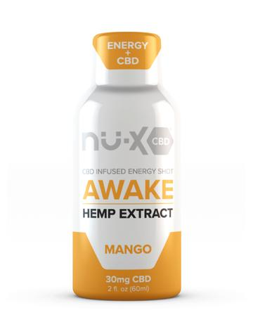 nu-x awake caffeine and cbd shot